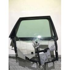 Rama usa dreapta spate + macara manuala + geam Audi A4 B5