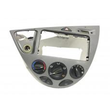 Consola centrala bord + panou climatizare Ford Focus I - gri 98ABA046A04AEW