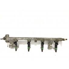Injectoare cu rampa Ford Focus I II Fiesta IV V VI Fusion C-Max B-Max Mondeo IV Puma 1.25i 16v 1.4i 16v 1.6i 16v 98MF9F593BA 98MF9F593BB 98MF9F593BC 1071994 1222310 1429840 0280160599 98MF9C988B